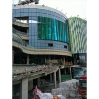 China facade mesh advertising LED signs Transparent strip LED Screen Video Wall Outdoor display on sale