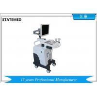 Quality Veterinary Clinic B/W Trolley Ultrasound Diagnostic System For Small Dogs And Cats for sale