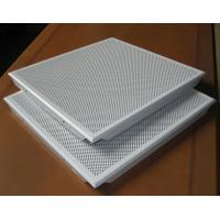 Quality Hidden Frame Metal False Ceiling 600x600MM , Perforated Aluminum Ceiling Panels for sale