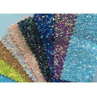 "Fashion Transparent Chunky 3D Glitter Fabric For Hairbow 54/55"" Width"