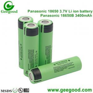 China Panasonic 18650B 3400mah high capacity best quality 18650 battery for  vape e-cig power tools e-scooter e-bike e-car on sale