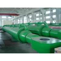 Quality Small Radial Gate Electric Big Hydraulic Cylinder Steel With Deep Hole for sale