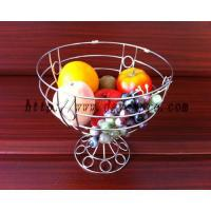 China fruit basket yc-gl-002,fruit baskets,fruit holder,metal fruit basket on sale