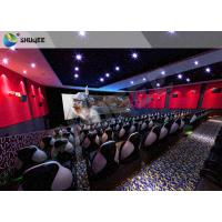 Quality Electric 4D Cinema System Customized Seat / Professional 3D Glasses 4d Cinema for sale