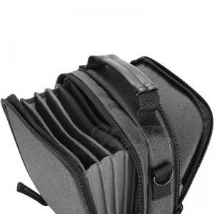 China Solid Canvas Camera Filter Bag Case , Camera Lens Bag Zipper Top Long Lifespan on sale