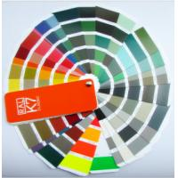 Quality Metal color code ral classic color card K7 color chart ral color fandeck colour chart for sale
