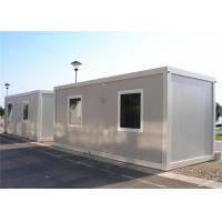 Quality Steel Door Flat Pack Container House , Single Container House For Sentry Box for sale