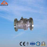 China Two Pieces Flanged Jacket Ball Valve (GABQ41F) on sale