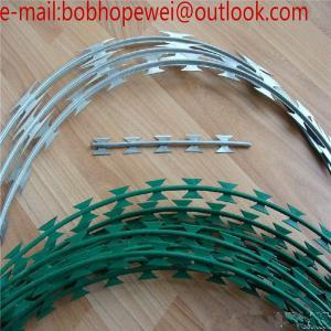 Quality the razor wire/razor wire prices south africa/prison razor wire/concertina wire suppliers/razor wire specification for sale