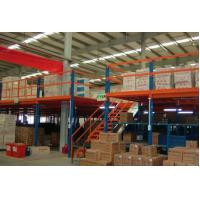 Buy cheap Steel Industrial Storage Racks Heavy Duty Mezzanine For Goods Fixed Mobility from wholesalers