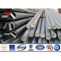 Quality AWSD 1.1 Round 11m 400daN Steel Utility Pole for Electrical Distribition for sale
