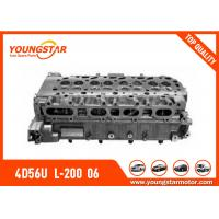 Quality MITSUBISHI Complete Cylinder Head For 4D56U  L-200  06=> TRITON  16V  2.5tdi  1005A560 for sale
