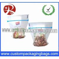 Buy cheap Clear Reclosable & Reusable Ziplock Bag Plastic Food Packaging Pouch from wholesalers