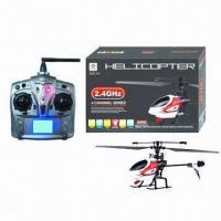 Quality 2.4G 4CH Single Propeller RC Helicopter with Gyro for sale