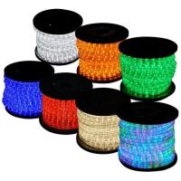 China 3 wire flat led light swimming pool rope light on sale