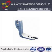 Quality Wear Resistant Sewing Machine Spare Parts By Lost Wax Precision Casting for sale