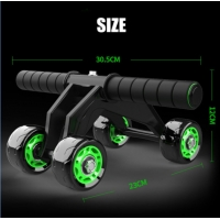 China 4 wheel abs roller 4 wheel ab machine 4 wheel abs vs 2 wheel abs on sale