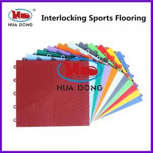 Quality Anti-Slip Resistance Suspended Interlocking Sports Flooring for sale