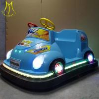 China Hansel Outdoor playground plastic children toys and battery bumper car amusement park equipment on sale