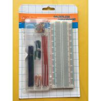 Quality ROHS 830 Tie Points Breadboard And 70 Pcs Flexible Jumper Wire Kit for sale