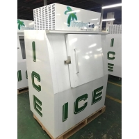 Quality Bagged Ice Storage Freezer For Outdoor Ice Merchandising for sale