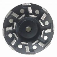 "Quality 5"" Inch 7"" Inch S segment Aggressive Diamond Grinding Concrete Cup Wheels for concrete for sale"