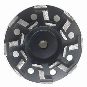"Quality 5"" Inch 7"" Inch S segment Aggressive Diamond Grinding Concrete Cup Wheels for concrete for sale"