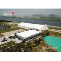 Buy cheap 10000 Sqm Aluminium Frame Tent , 40m Width Big Outdoor Trade Show Tents from wholesalers