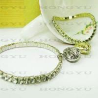 Quality Fashion Jewelry Alloy with Crystal Bangle/Bracelet Ljh0022 for sale