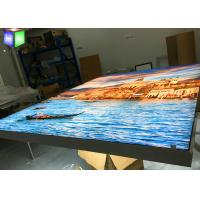 Quality Large LED Fabric Light Box Signs Wall Mounted Picture Frame Artwork Printing for sale