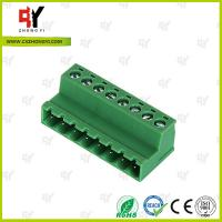 Quality PA66 and Copper Connector Terminal Block HQ2TBKR 5.0 / 5.08 Spacing for sale