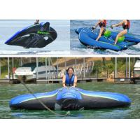 Quality 2 Person Flying Manta Ray Towable Inflatables For Water Park OEM for sale