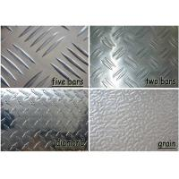 Quality Polished Aluminium Checker Plate , Commercial Grade 5052 Aluminum Sheet for sale