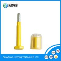 China shipping container bolt lock seal tamper proof pc covered  seals in many colors on sale