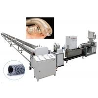 Quality Siemens Motor PVC Pipe Extrusion Line TPU Clear Dust Collection Hose Making for sale