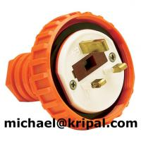 Quality 3 flat pin industrial plug 13A for sale