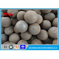 Quality Mineral Processing 25mm High hardness hot rolling steel balls 60Mn HRC 65-68 for sale