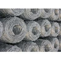 12x14 Hot Dipped Galvanized Barbed Wire Coil, Security Mesh Fence of