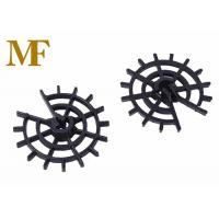 Quality Great Cohesion Plastic Wheel Rebar Spacers Customized Color For Concrete Cover for sale