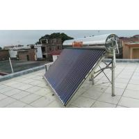 Buy Hot Sell Non Pressure 304 Stainless Steel Solar Water Heater of 60L 100L 150L at wholesale prices