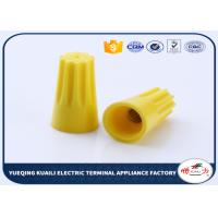 Quality Yellow High Temperature Resist Battery Terminal Screw On Connector Cap OEM for sale