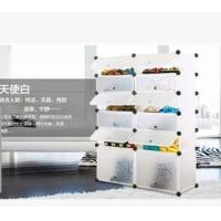 China 6 tiers white PP DIY shoes cabinet shoes rack shlef on sale