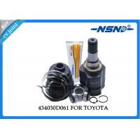 Buy Toyota Auto Cv Joint 434030D061 Universal Dust Proof For Inner Position at wholesale prices