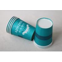 Quality 12 Oz 380ml Single Wall Paper Cups For Hot Drinks With Lids In Blue Color for sale