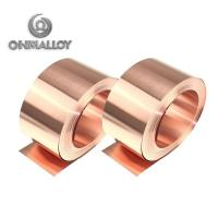 Quality Thickness 0.5mm - 2mm Pure Copper Tape Purity 99.9 Cu% For Automotive Water Tank for sale