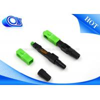 Buy SM Optical Fiber Fast Connector 60mm 0.2dB Insertion Loss 60x9x7mm at wholesale prices