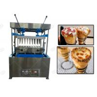 Quality Electric Mode Snacks Making Machine / Cone Pizza Forming And Pizza Cone Making Machine for sale