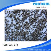 Quality Grit blasting abrasive steel grit G18 G25 G40 for sale