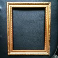 Quality Fashion Gold Plastic beautiful picture frame designs wedding wood photo frame / love frames photo for sale