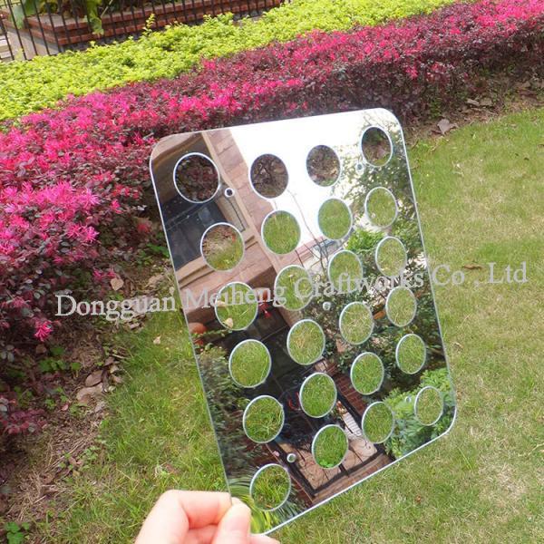 circular hole LED reflector board PC plastic reflector board